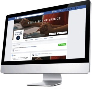 be the bridge social media profiles